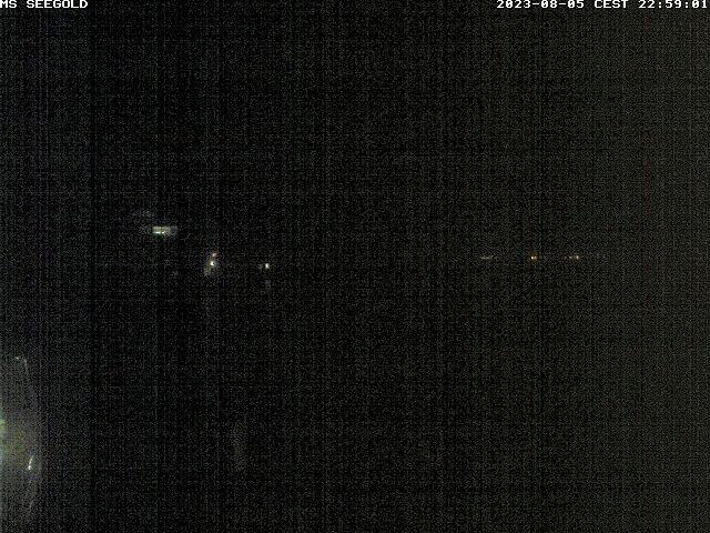 MS Seegold - Webcam auf dem Schiff - Personenschifffahrt